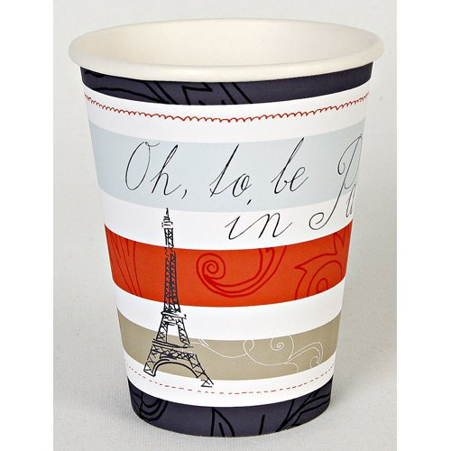 Chic Paris Party Cups