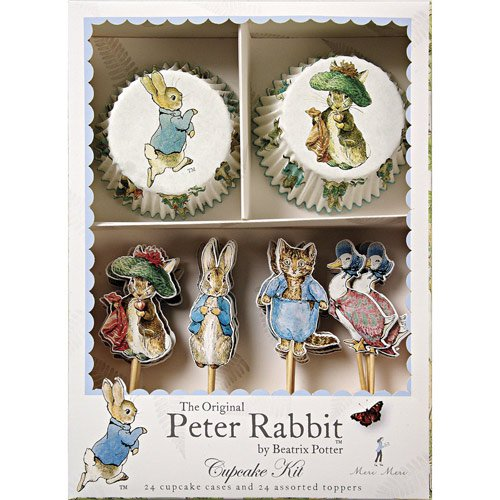 Peter Rabbit Party Cupcake Kit