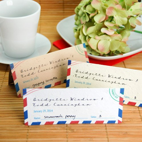 Passport Plantable Place Card
