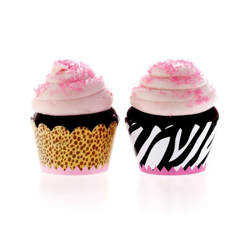 Perfect Party Girl Cupcake Wrappers