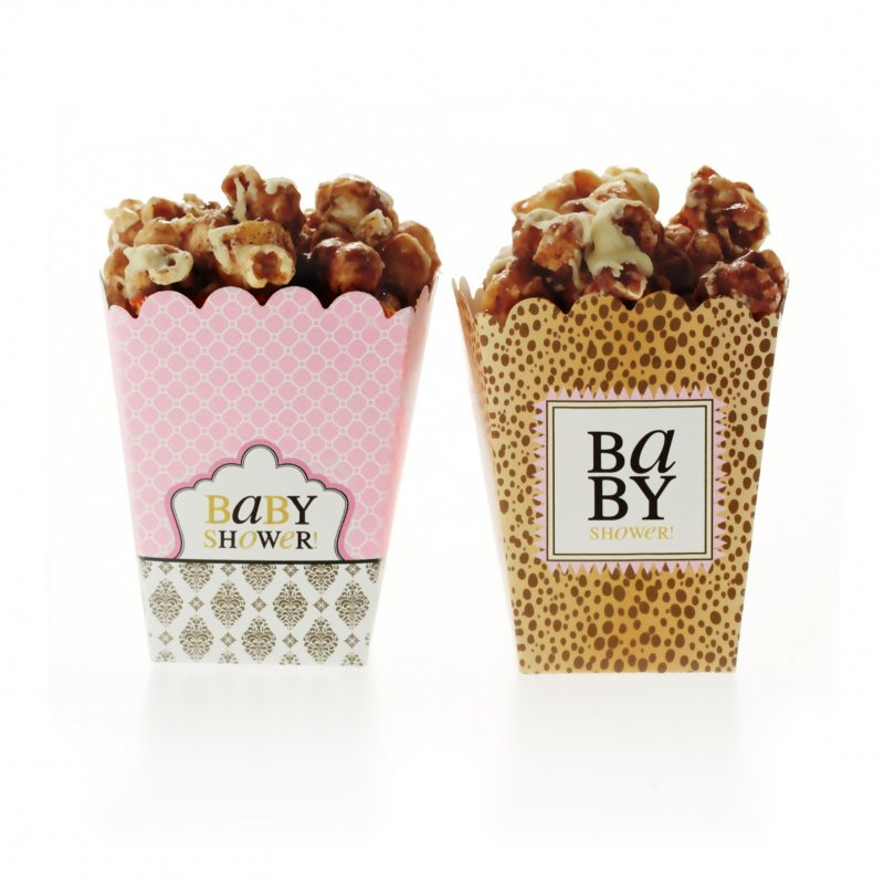 Leopard & Love Baby Pink Treat Boxes