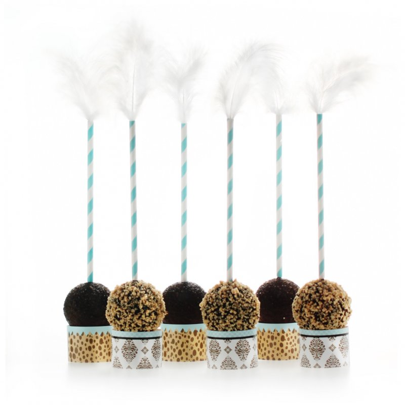 Leopard & Love Baby Blue Cake Pop Kit