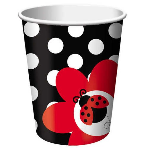 Ladybug Fancy 9 oz Hot/Cold Cups