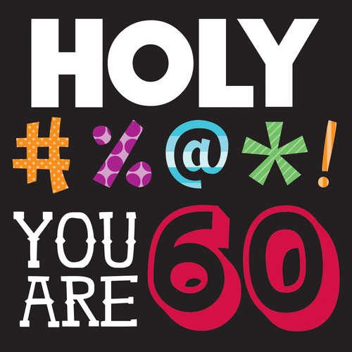 Holy Bleep 60th Birthday Luncheon Napkins