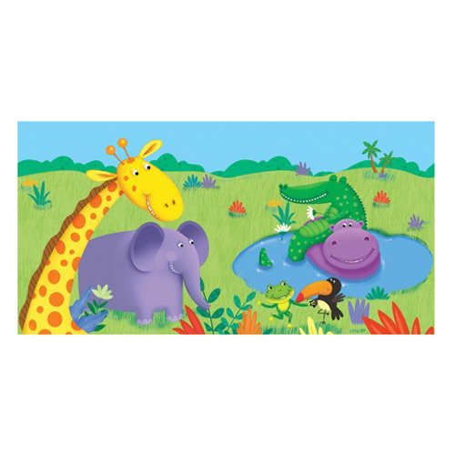 Jungle Buddies Tablecover