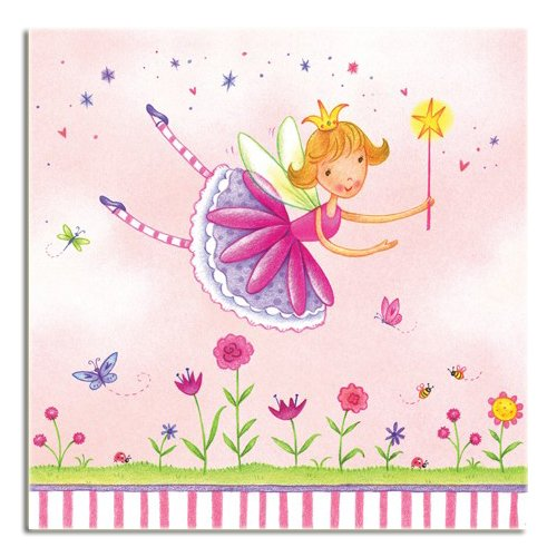 Garden Fairy Beverage Napkins