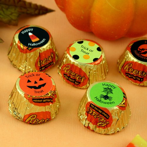 Personalized Halloween Reese's Peanut Butter Cups