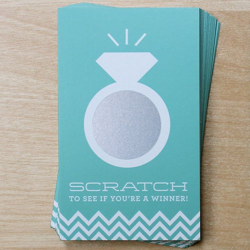 Wedding Ring Scratch Cards Game
