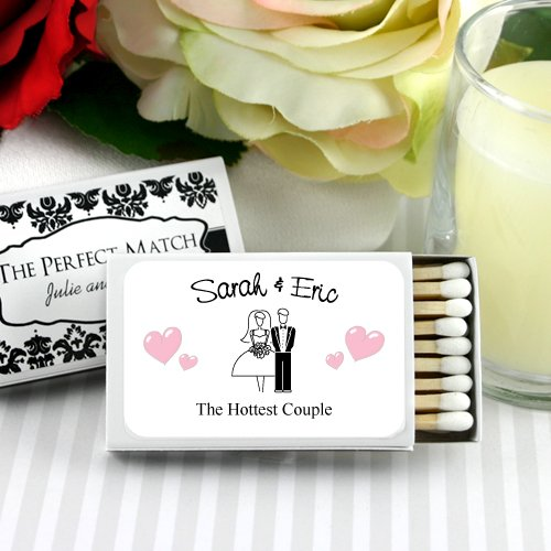 Personalized Themed Wedding Matchboxes