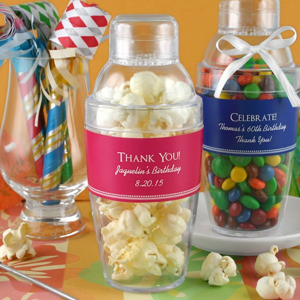 Personalized Cocktail Shaker Favor