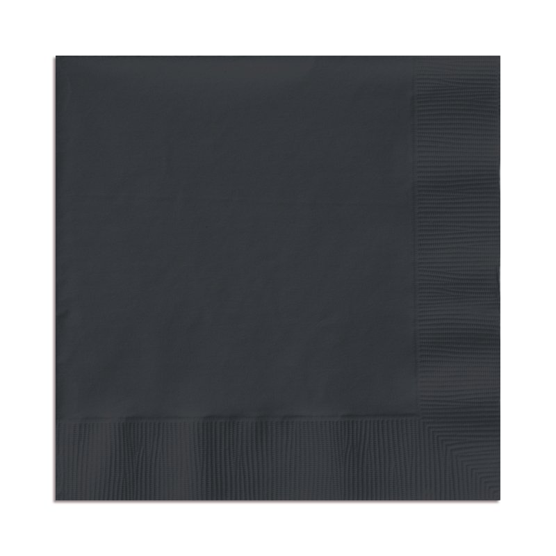 Black Velvet Luncheon Napkins