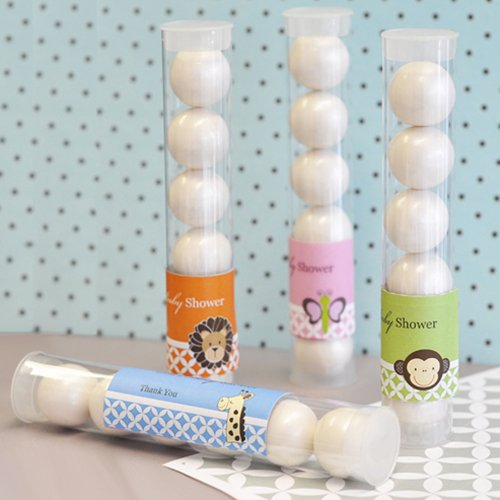 Personalized Baby Shower Candy Tubes