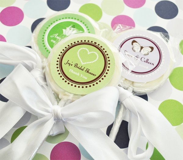 Bridal Shower Personalized Lollipop
