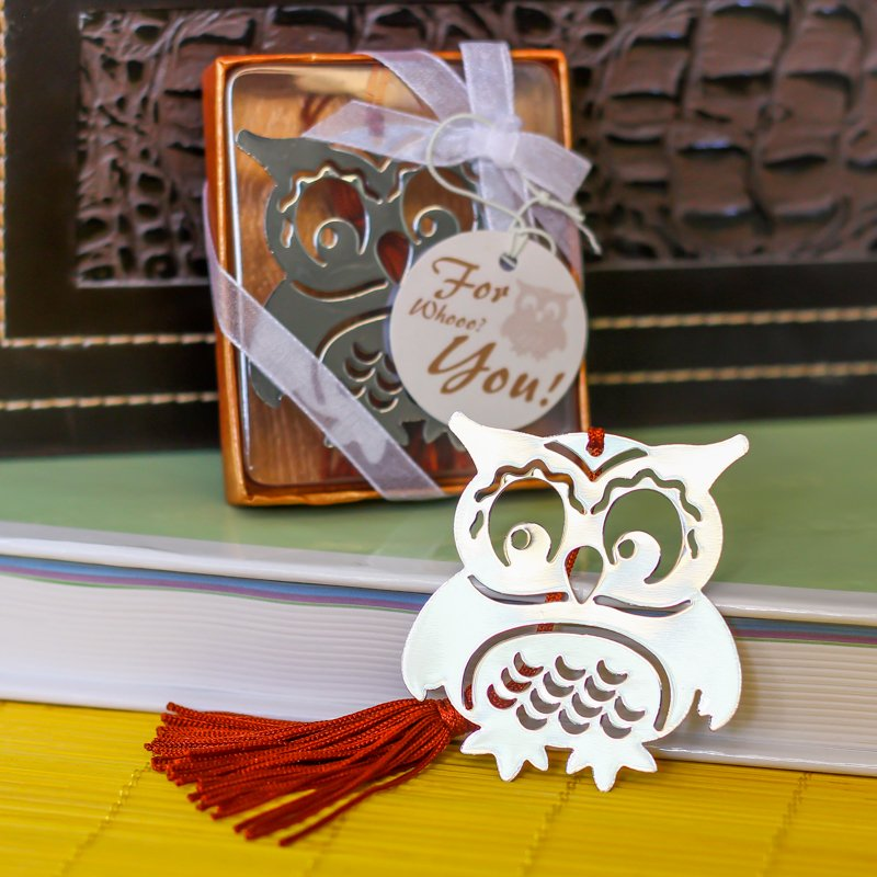 Baby Owl Bookmark