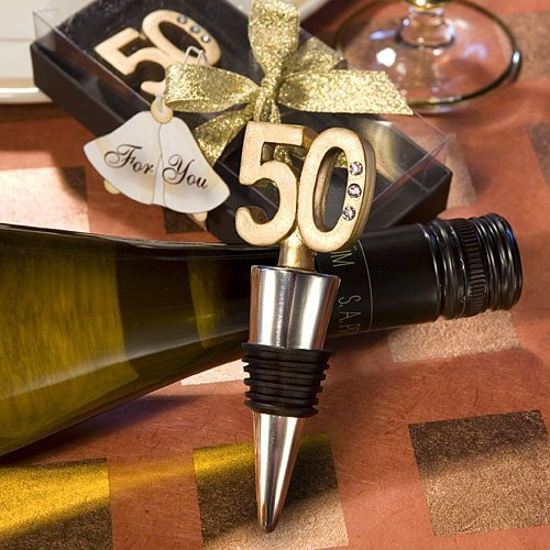 50th Birthday Wine Stopper