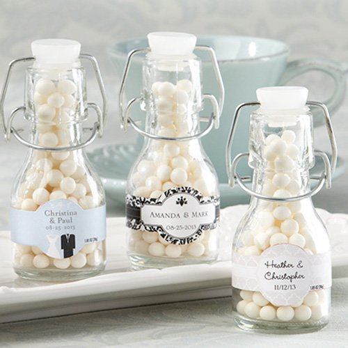 Personalized Swing Top Favor Bottles