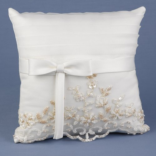 Vintage Charm Ring Pillow