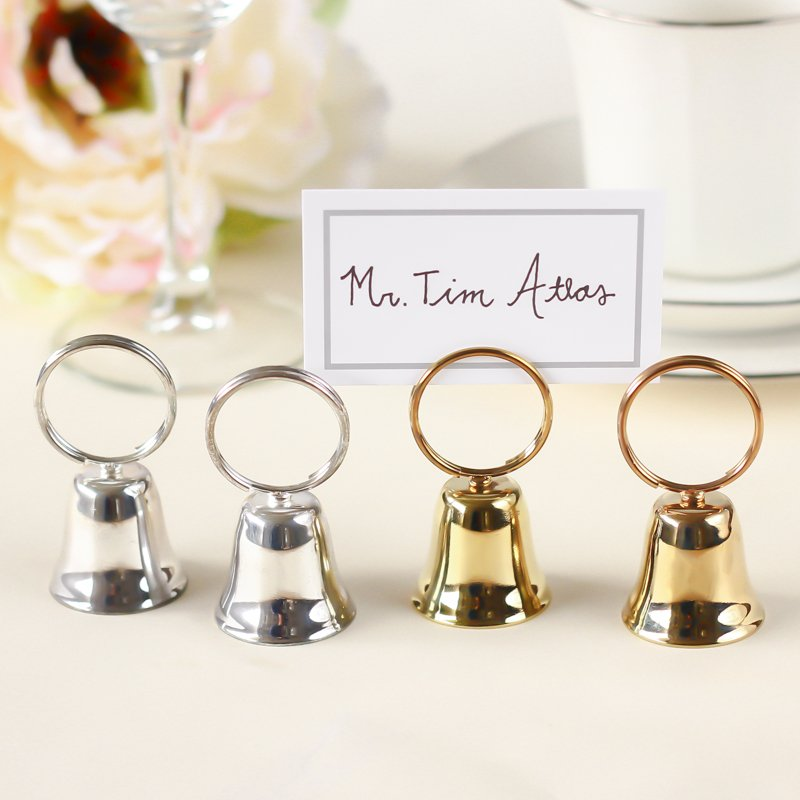 Wedding Bell Placecard Holders